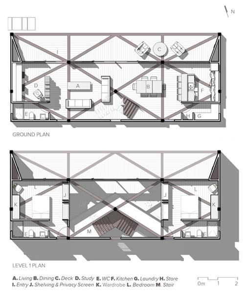 9 Dot House Plans