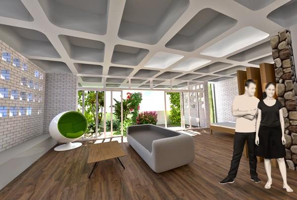 Hive Interior, 1 Bed Unit