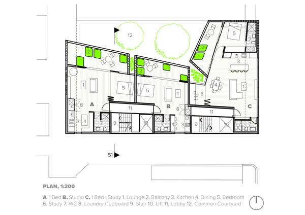 Hive Typical Residential Floorplan