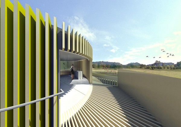 MEANDERS - Exterior Threshold Render