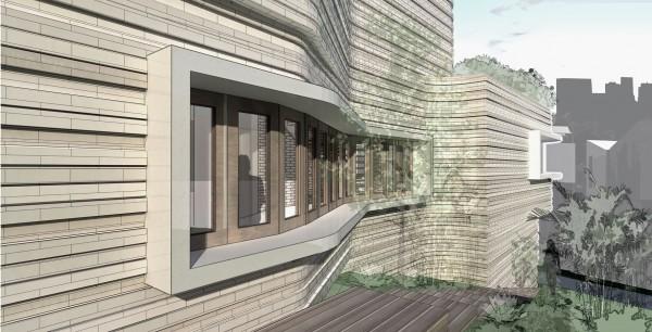 Stratum House Facade Detail