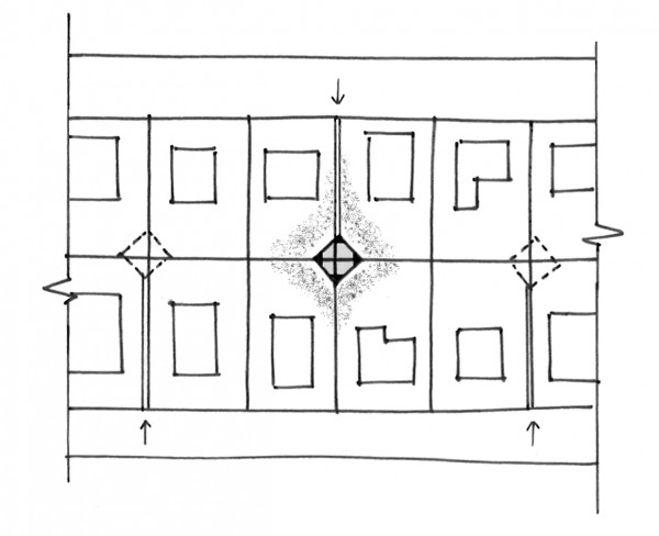 Vault House Concept Sketch