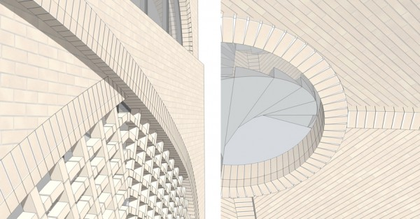 Vault House Brick Details