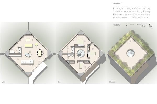 Vault House Plans